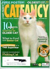 Cat Fancy ~ September 2012 ~ Devon Rex ~ Japanese Bobtail