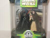 NEW Star Wars Obi-Wan Kenobi & Darth Vader Final Duel Hasbro SILVER ANNIVERSARY
