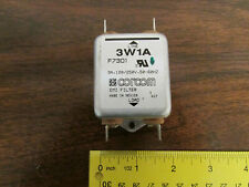 Corcom 3W1A Emi Filter 3A 250V 50/60Hz Used Great Condition
