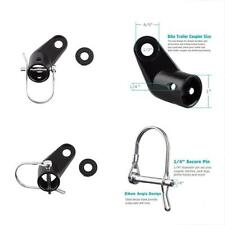 Upgraded Bike Bicycle Trailer Coupler Attachment Angled Elbow InStep & Schwinn