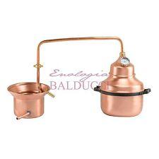 Alambicco distillatore da 3 Lt in Rame con termometro