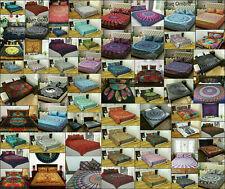 Queen Size Mandala Bohemian Duvet Cover Indian Cotton Bedding Hippie Comforter