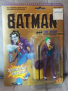 THE JOKER, BATMAN ACTION FIGURE BY TOY BIZ, 1989
