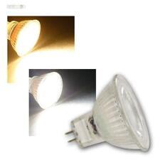 Mr16 LED emisor bombilla mcob 36 ° 3/5w cálido/neutral 12v pera mr-16 Spot
