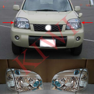 Front Corner Light + Headlight Housing L&R for Nissan X-Trail T30 Rogue 2001-07