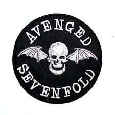 Avenged Sevenfold Hard Rock Punk Band Jeans Jacket Cap Badge Shirt Iron on Patch
