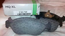 VOLVO 440  460  480 FRONT BRAKE PADS-ALL MODELS WITH ATE FRONT BRAKES VXL740