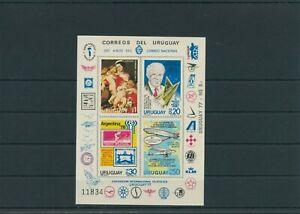 Uruguay Flugpost Mi. 1453-1456 Sonderblock postfrisch ** MNH weitere sh. Shop
