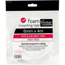 Couture Creations Foam Mounting Tape 6mmx4m High Tack 499993279171
