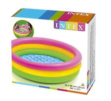 Piscina hinchable 3 aros para bebe o niños: sunset Intex, jardin, patio, Env.24h