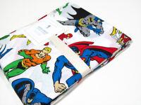 Pottery Barn Kids DC Batman Superman Flash Justice League Twin Duvet Cover New