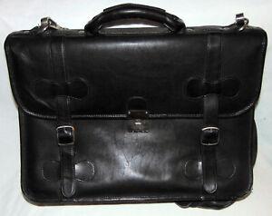 Piel Leather Briefcase - 17 X 12 X 4.5