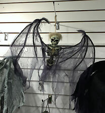 Halloween Angel of Death Hanging Skeleton Party Decoration Prop FREE P&P