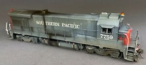 New- Weathered Rapido B36-7 SP #7759 DC/DCC/sound HO scale Locomotive