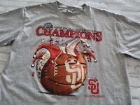 Lee Sport 2003 NCAA Champions Syracuse Orangemen Final Four Vinyl Graphic Tee L