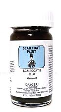 Scalecoat II S2117 Grime #2 2 oz Enamel Paint Bottle