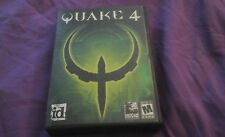 QUAKE 4 PC CD ROM WINDOWS 2000 XP VIDEO GAME CASE BOOK COMPLETE