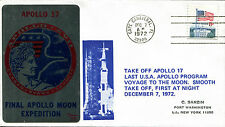 "1972 - Apollo 17 -  Busta Commemorativa con annullo ""CAPE CANAVERAL -1972"""