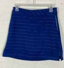 Womens Lady Hagen Essentials Golf Skort Skirt Blue eyelet Size 2