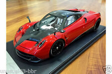1/12th Peako Model Pagani Huayra Track Pack Edition in Candy Red,  MR , BBR