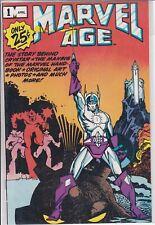 1983 MARVEL AGE COMIC BOOK  #1-3 JOHN BYRNE ALPHA FLIGHT PREVIEW CRYSTAR NM-MT