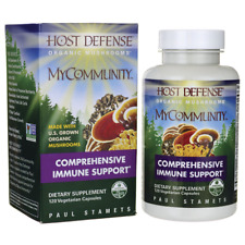 HOST DEFENSE Mushrooms My Community Comprehensive Immune Support 120 Caps NEW