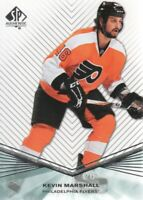 2011-12 SP Authentic Rookie Extended #R78 Kevin Marshall Philadelphia Flyers