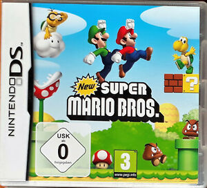 Super Mario Bros. (Nintendo DS, 2006), OVP mit Anleitung