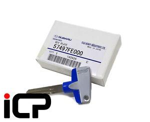 JDM STi Titanium Blank Key Fits Subaru Impreza, Forester & Legacy 57497FE000