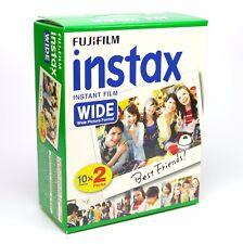 Fuji Instax Film Wide für Instax Wide 210, 300 etc., Doppelpack für 20 Bilder