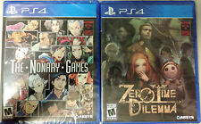 Zero Escape: The Nonary Games & Zero Time Dilemma (Sony PlayStation 4, 2017)