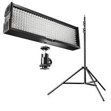 walimex pro Beleuchtung Set Video Set UP 256 für Videoaufnahmen, Leuchte+Stativ