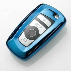 For BMW F20 F30 F22 F01 X3 X4 F06 F02 Sealed TPU Car Key Case Cover Fob Fashion