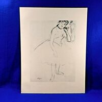 DEGAS Complete Portfolio 10 BALLET Sketches  Ltd Ed of 3500  Albert Carman 1960