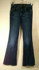 Teen Girls Limited Too Size 14 Slim Blue Jeans Wide Leg Super Hip Juniors
