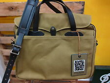 FILSON Original Briefcase  Dark Tan  New  Made in USA