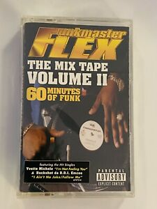 FUNKMASTER FLEX The Mix Tape Volume II 60 Minutes Of Funk NEW SEALED Jay-Z Nas