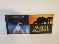 FAITH NO MORE CD LOT OF 2 Songs To Make Love To & Angel Dust Good Pre-Owned