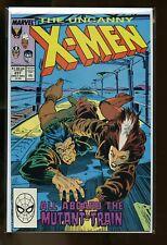 LOT OF 3 COPIES UNCANNY X-MEN #237 NEAR MINT 9.4 1988 MARVEL COMICS