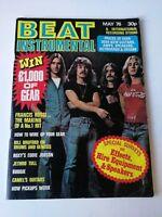 BEAT INSTRUMENTAL Magazine 156 May 1976 Jethro Tull STATUS QUO Budgie Hawkwind