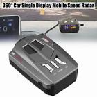 360  Car SpeedometerSingle Display Mobile Speed Radar Laser Detector Voice Alert