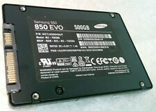 "500GB SAMSUNG 850 EVO MZ-75E500 7mm 2.5"" SSD Solid State Drive"