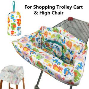 Soft Baby Shopping Cart Cushion Pad Kids Trolley High Chair Seat Mat