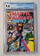 MARVEL FANFARE #11 CGC 9.8 - White Pages  -  IRON MAIDEN