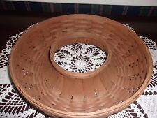 Longaberger 2007 Medium Wreath Basket with Protector - Rich Brown