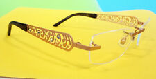 BOUCHERON Women's Optical Frame 51-18-135 Gold MADE IN LUXEMBOURG - New!