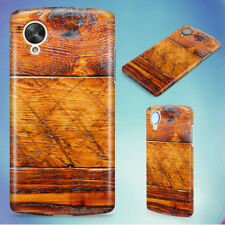WOOD HARD BACK CASE COVER FOR NEXUS PHONES