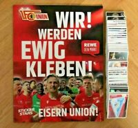 REWE Stickerstars: 1.FC Union Berlin 1/5/10/20/30/50 Sticker aussuchen Komplett