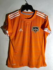 Adidas Women's MLS Jersey Houston Dynamo Team Orange sz M