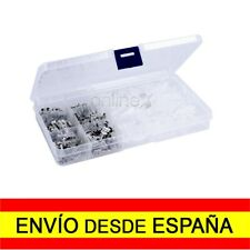 Caja Maletin 270 Terminales Faston Macho - Hembra sin Pre - Aislamiento a1177